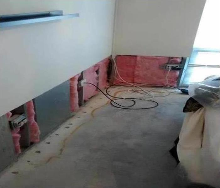 Commercial Water Damage – San Jose Offices Before