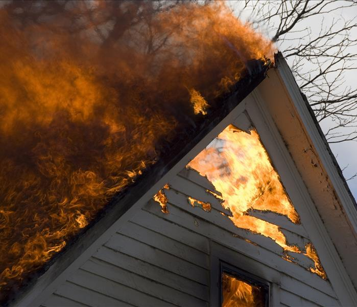 Fire Damage SERVPRO Will Put The Flame Of Worry Out In Your San Jose Home